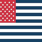 Reverse American Flag by storecee