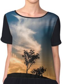 ~ embrace me ~ Women's Chiffon Top