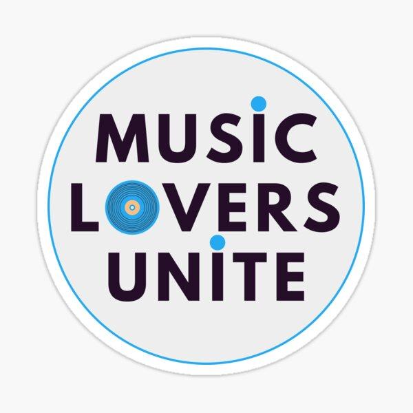 Music Lowers Unite Sticker