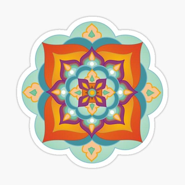 Mandala four elements Sticker