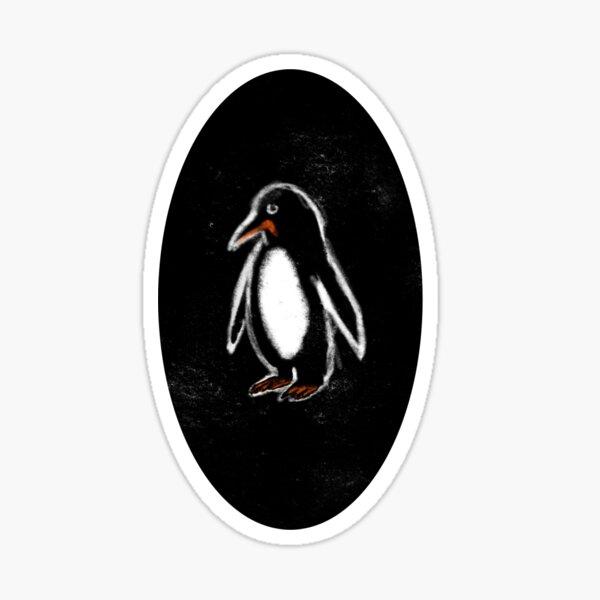 Gary the Penguin Glossy Sticker