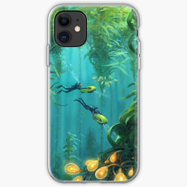 Exploring the Kelp Forest iPhone Soft Case