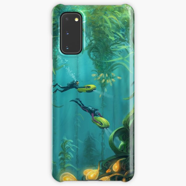 Exploring the Kelp Forest Samsung Galaxy Snap Case