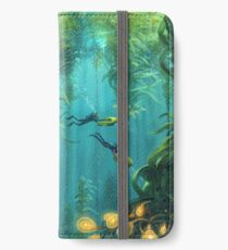 Exploring the Kelp Forest iPhone Wallet/Case/Skin
