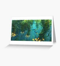 Exploring the Kelp Forest Greeting Card