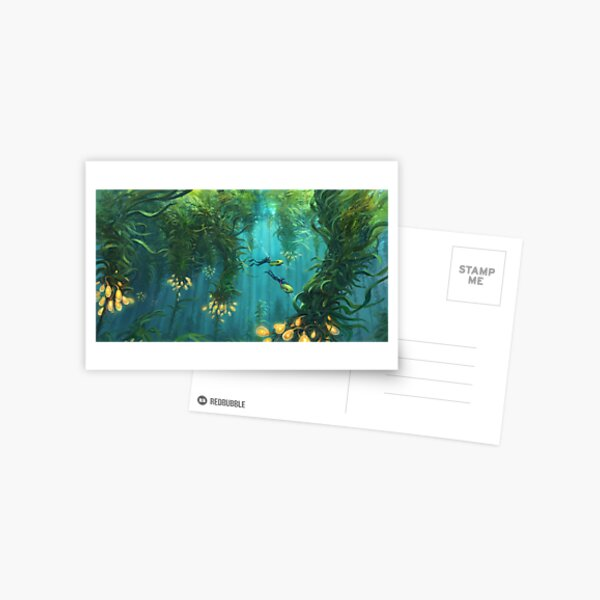 Exploring the Kelp Forest Postcard