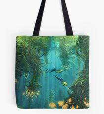 Exploring the Kelp Forest Tote Bag
