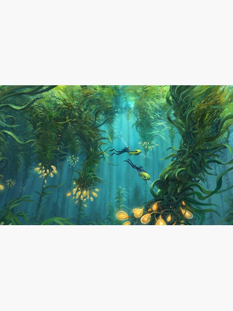 Explorando el bosque Kelp de UnknownWorlds