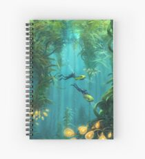 Exploring the Kelp Forest Spiral Notebook