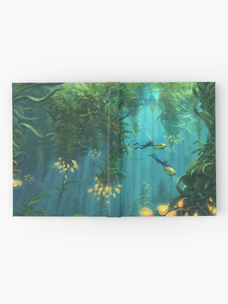 Alternate view of Exploring the Kelp Forest Hardcover Journal