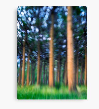 ~ the blue confetti forest ~ Canvas Print
