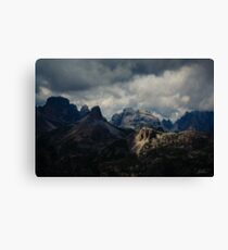 Light peak Canvas Print