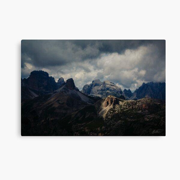 Light peak Canvas Print