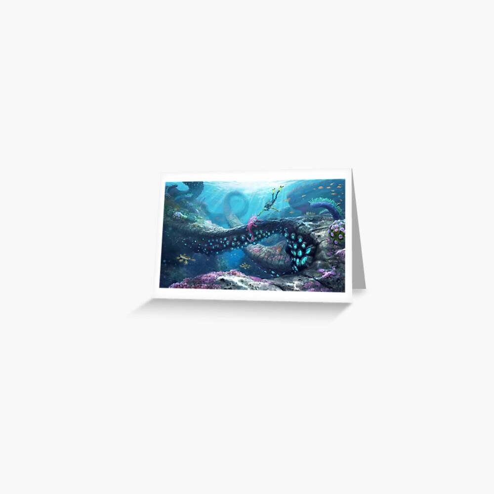 Twisty Bridges Greeting Card