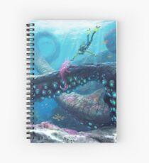 Twisty Bridges Spiral Notebook