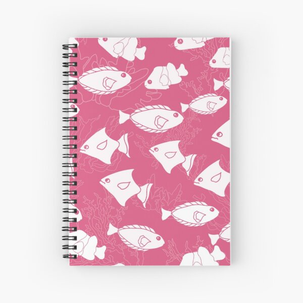 Just Keep Swimming by Creative Bee Studios Spiral Notebook