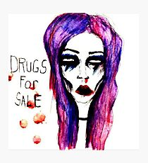 drugs for sale Photographic Print
