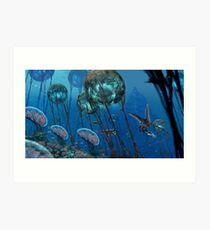 The Grand Reefs Art Print