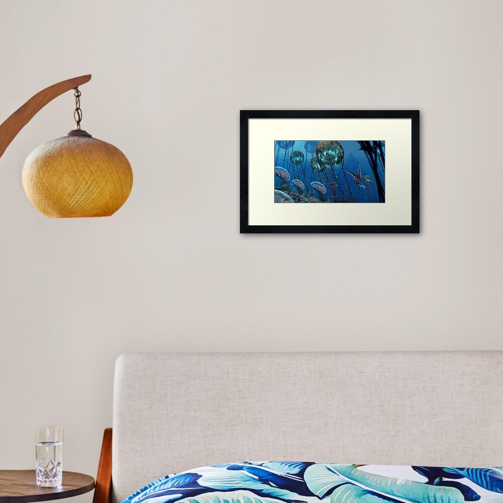 The Grand Reefs Framed Art Print