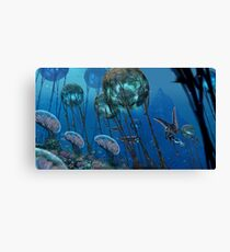 The Grand Reefs Canvas Print