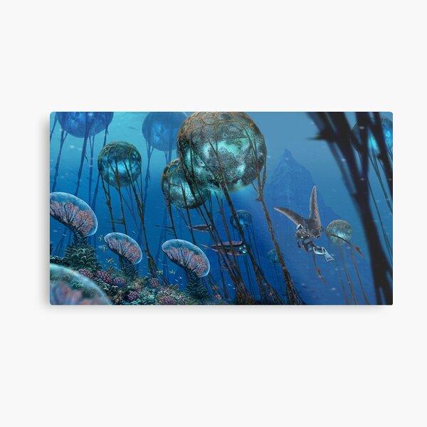 The Grand Reefs Metal Print