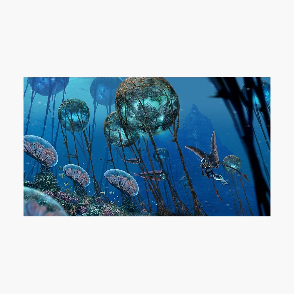 The Grand Reefs Photographic Print