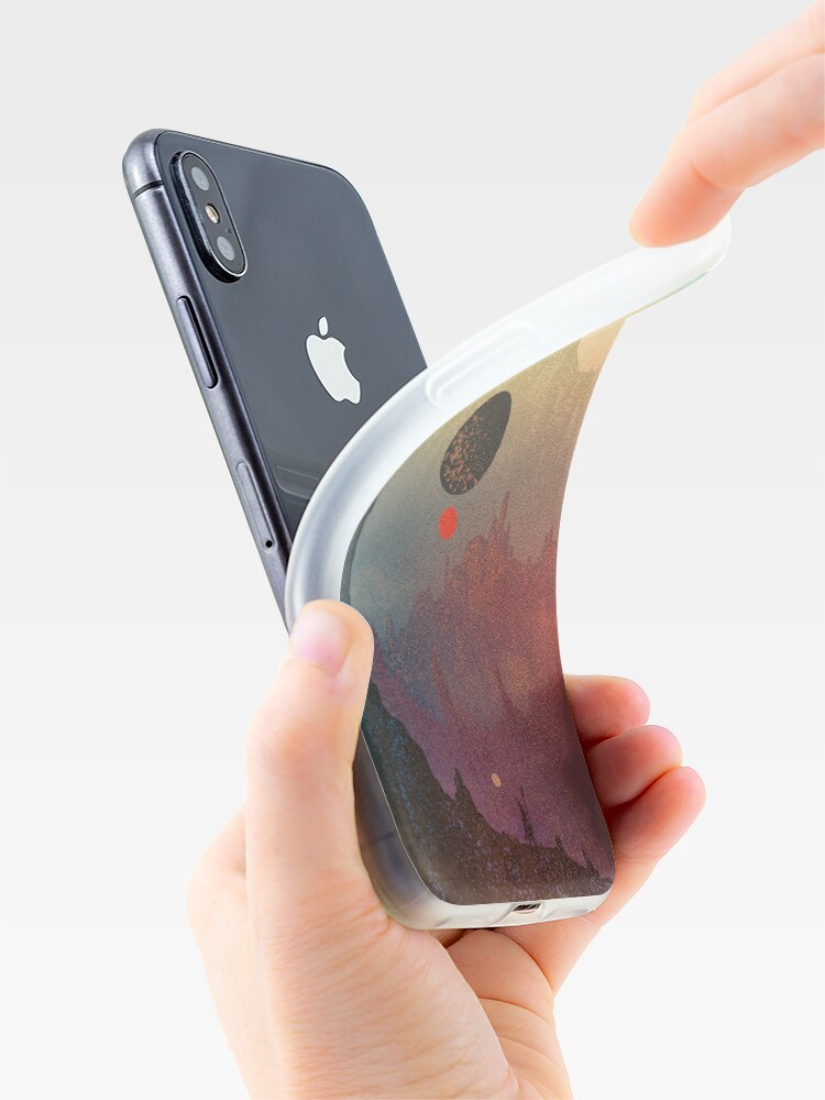 Alternative Ansicht von Der kosmische Tagtraum iPhone-Hüllen & Cover