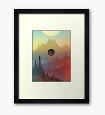 The Cosmic Daydream Framed Print