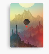 The Cosmic Daydream Canvas Print