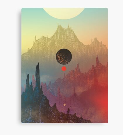 The Cosmic Daydream Canvas Print