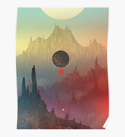 The Cosmic Daydream Poster