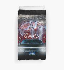 Supernatural Theme Car Duvet Cover