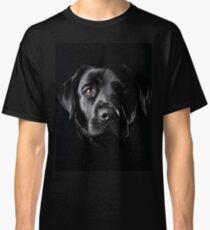 Black Lab Face  Classic T-Shirt