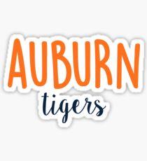 University of Auburn Sticker
