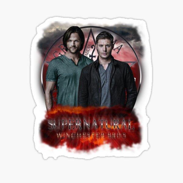 Supernatural Winchester Bros Sticker
