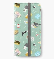 Cats Baking Cakes and other Sweets iPhone Wallet/Case/Skin