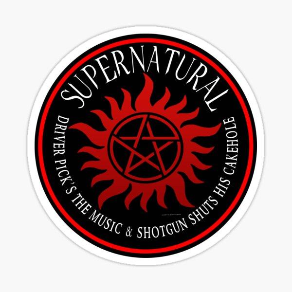 Supernatural Driver pricks the music  Sticker