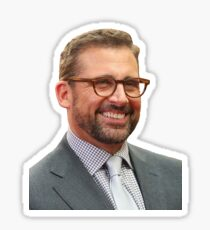 Steve Carell Sticker