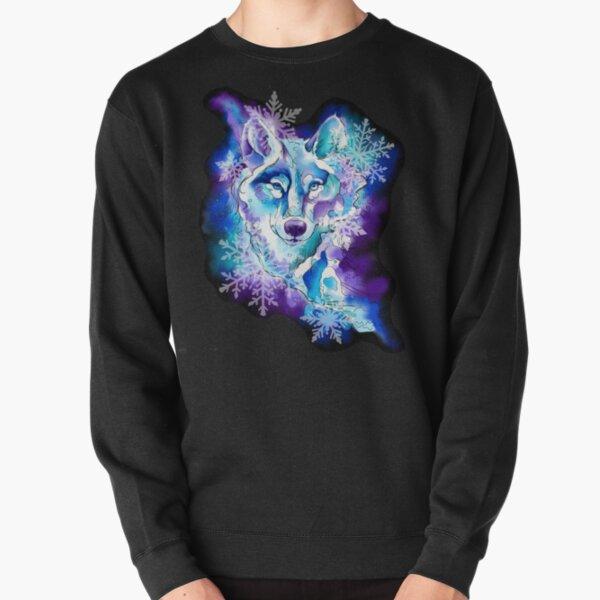 Ice Wolf Pullover Sweatshirt