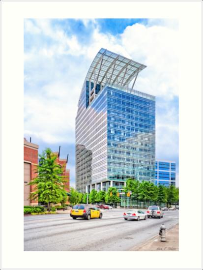 The Pinnacle - Peachtree Street in Atlanta by Mark Tisdale