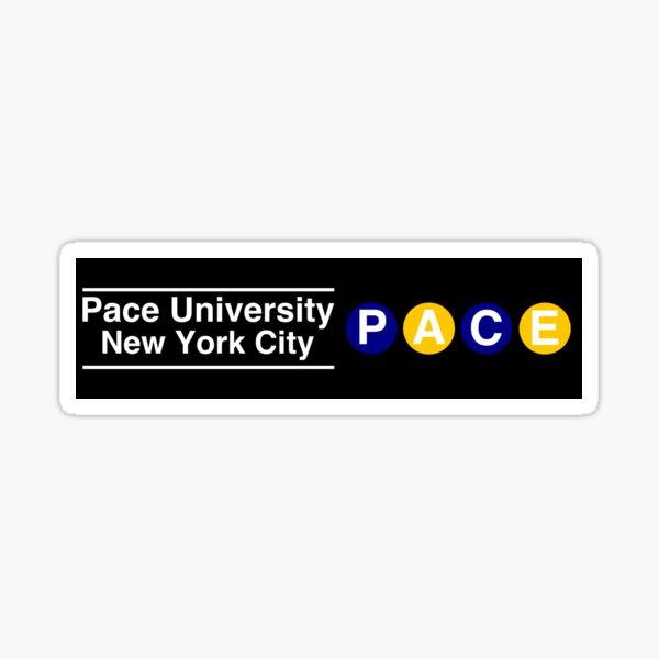 pace university nyc Sticker