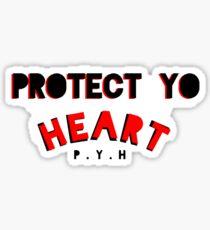 PROTECT YO HEART Sticker