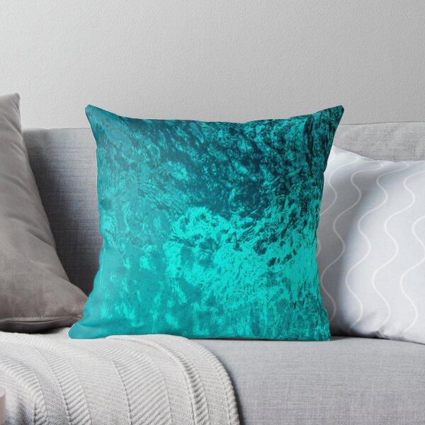 Natural Water Throw Pillow