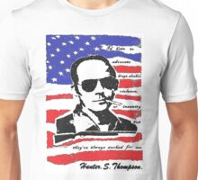 Hunter .S. Thompson. Unisex T-Shirt