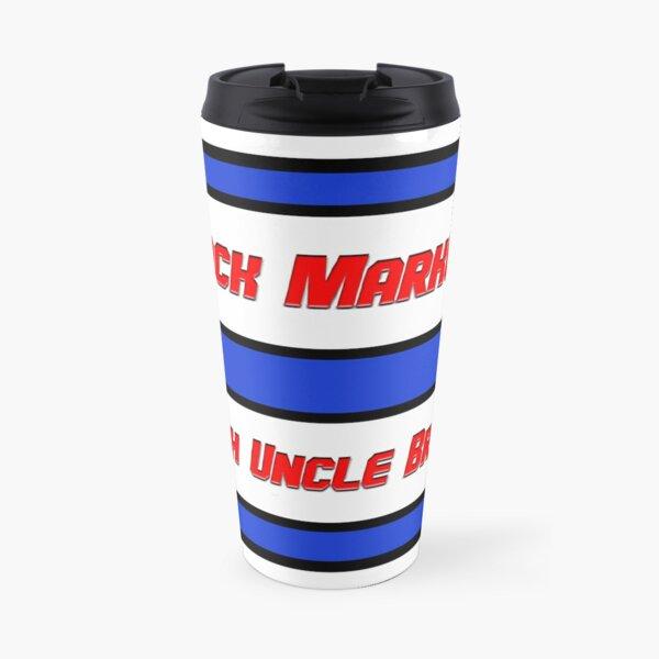 Classic Stock Markets With Uncle Bruce logo Travel Mug
