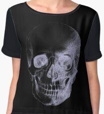 Skull X-Ray  Chiffon Top