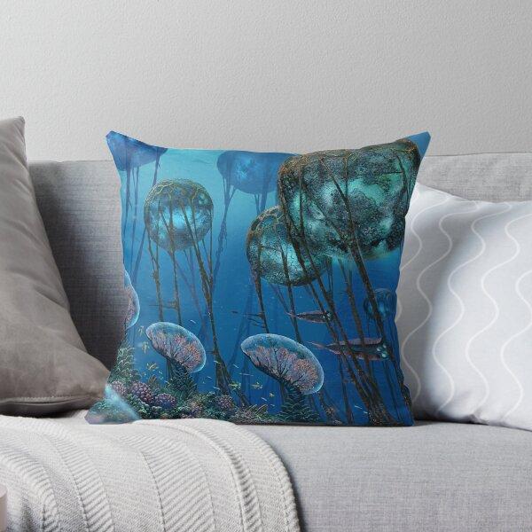 The Grand Reefs Throw Pillow
