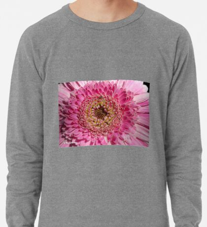 ALL IN PINK, UP CLOSE - GERBERA Lightweight Sweatshirt