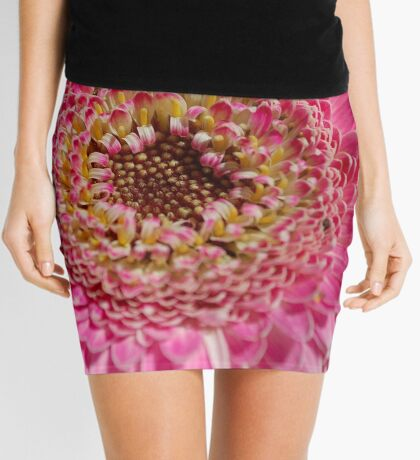 ALL IN PINK, UP CLOSE - GERBERA Mini Skirt