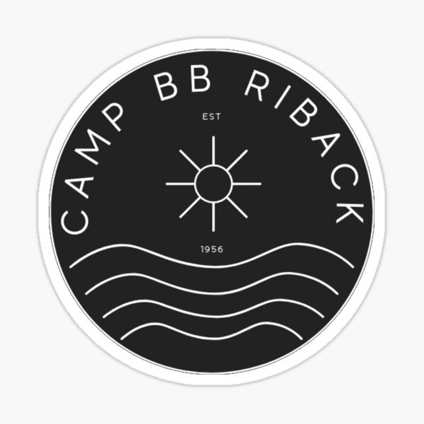 Camp BB 2021 Logo Black 1 Sticker